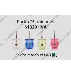 Pack x15 unidades